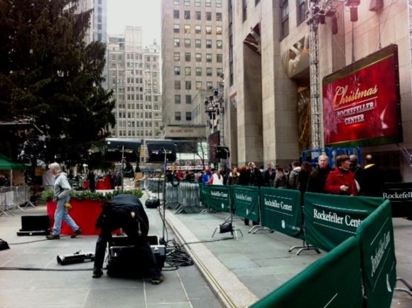 Rockefeller Center December 4, 2013