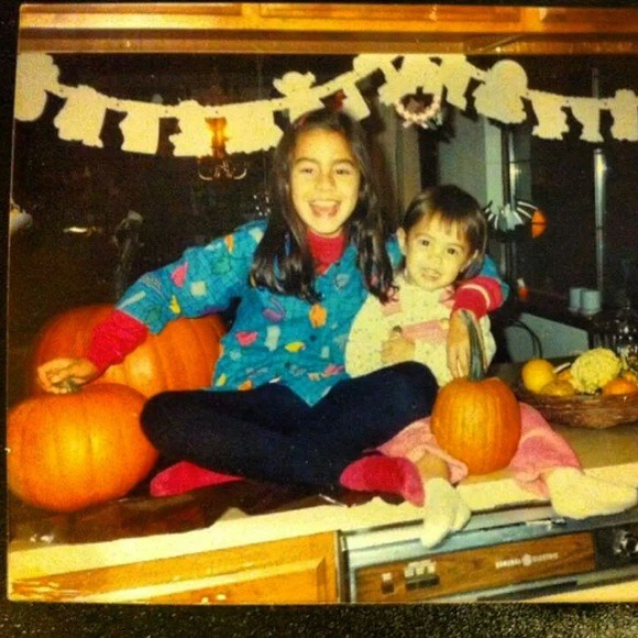 My sister and I celebrating one of many, many Happy Halloweens in the 1980's lol!